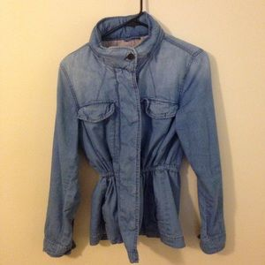 Chambray Jean Jacket - Field Coat